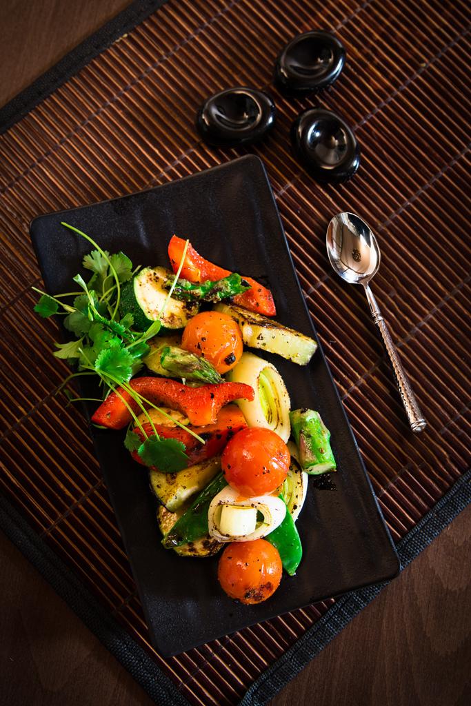 salad salat jedlo fotografia