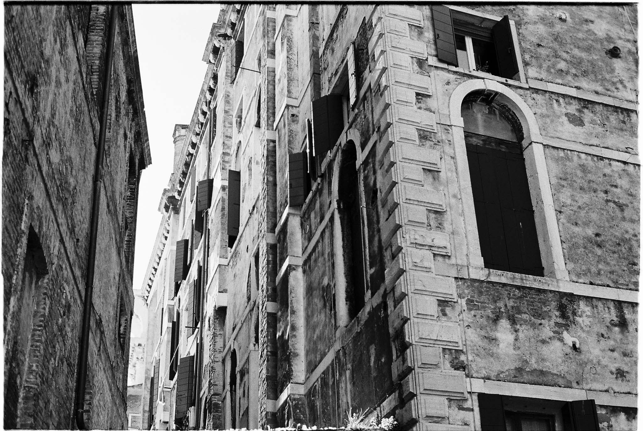 venice expired film BW conversion photography venice