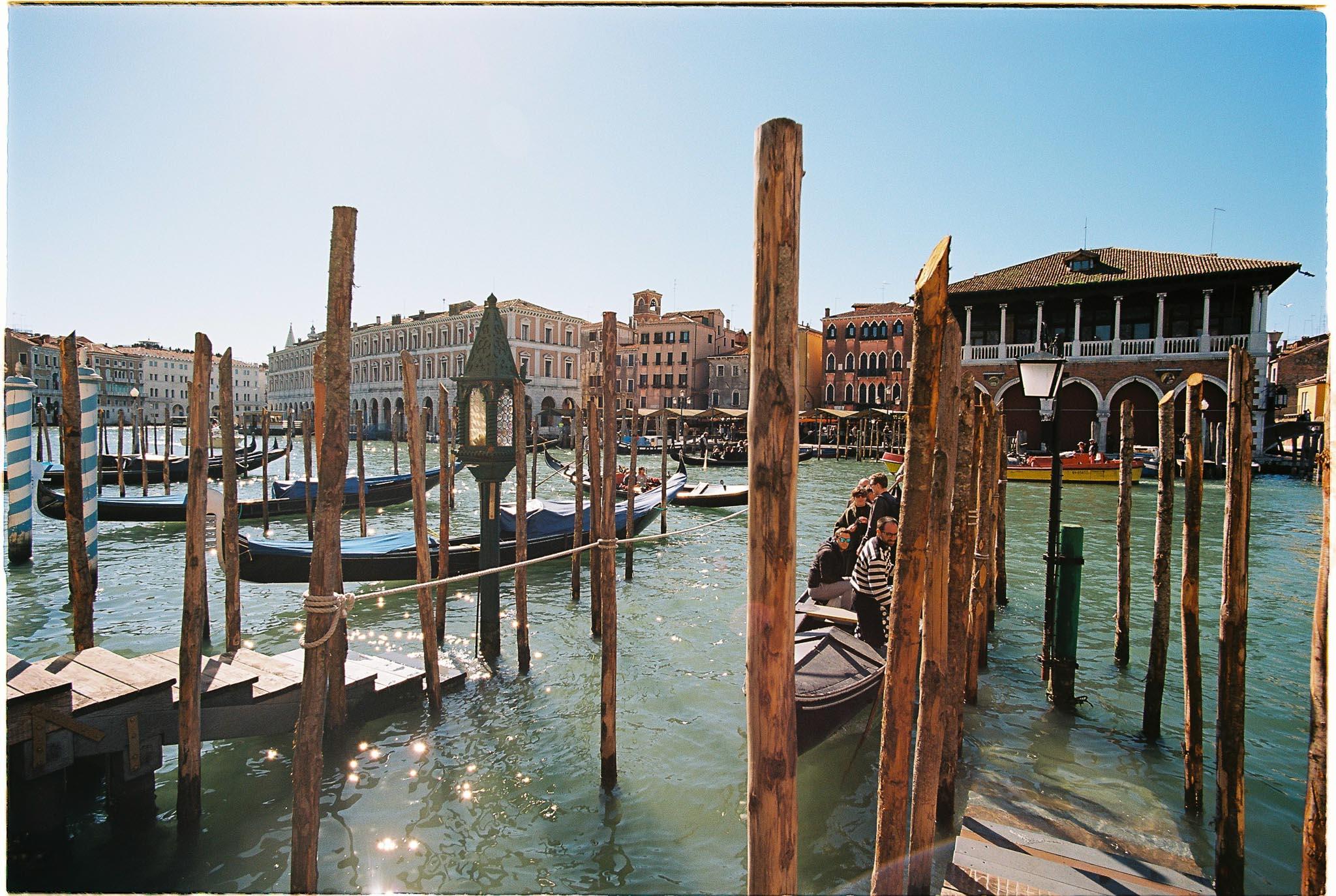 Venice Port Italy Kodak ektar 100 nikon F100 zeiss 18mm