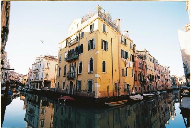 Venice streets kodak ektar