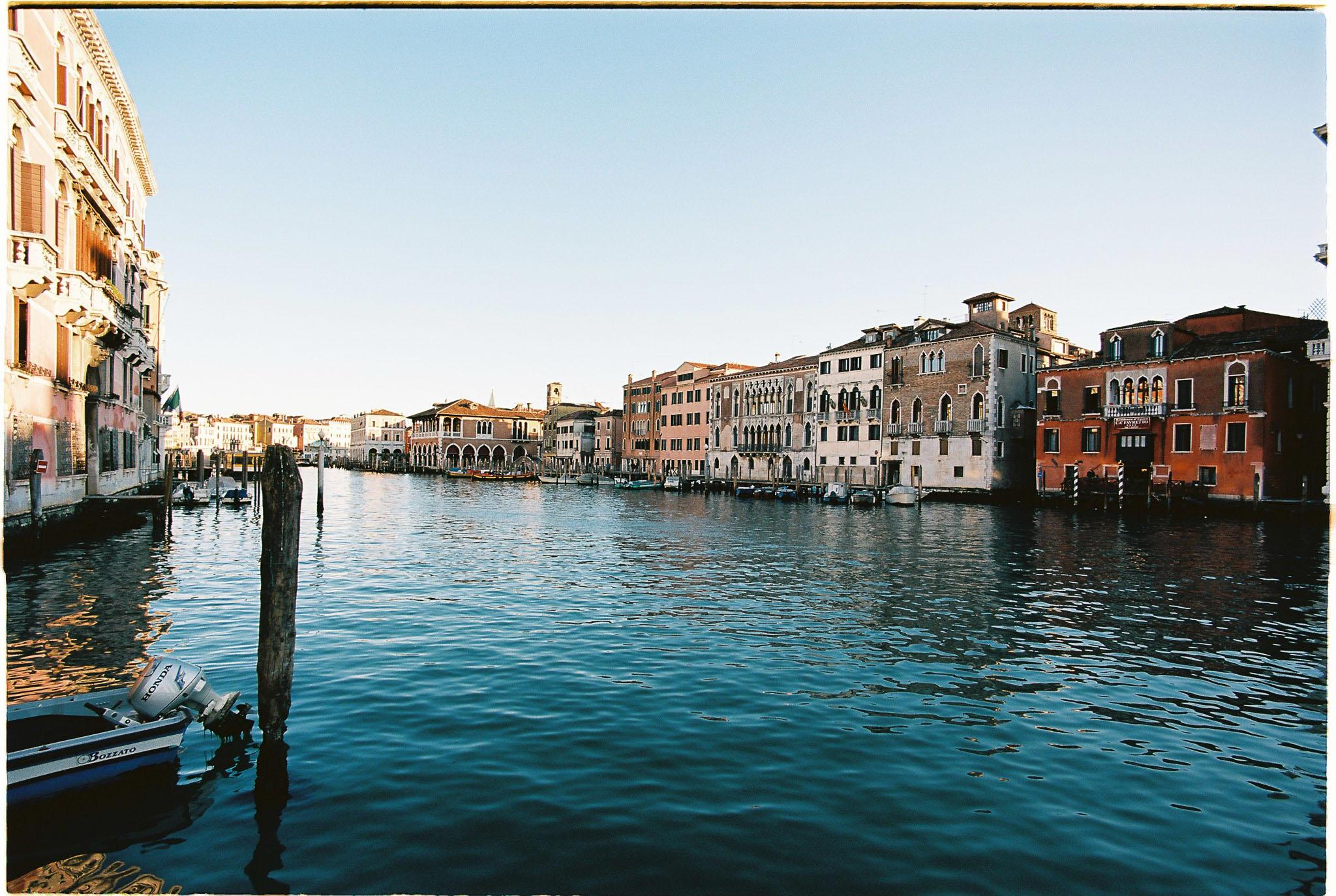 Venice Grand canal kodak ektar 100