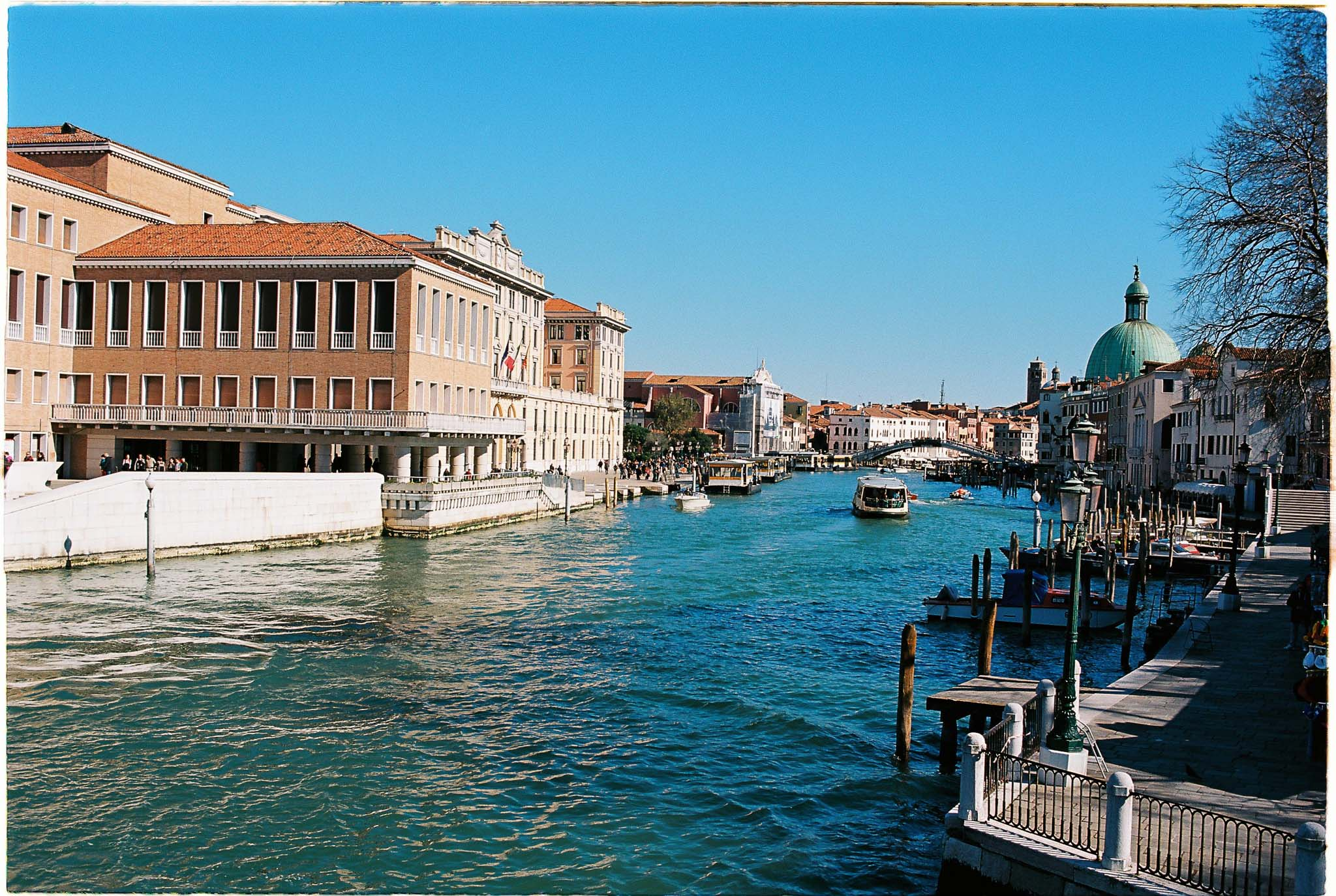 Venice Grad canal Kodak Ektar 100 Nikon F100
