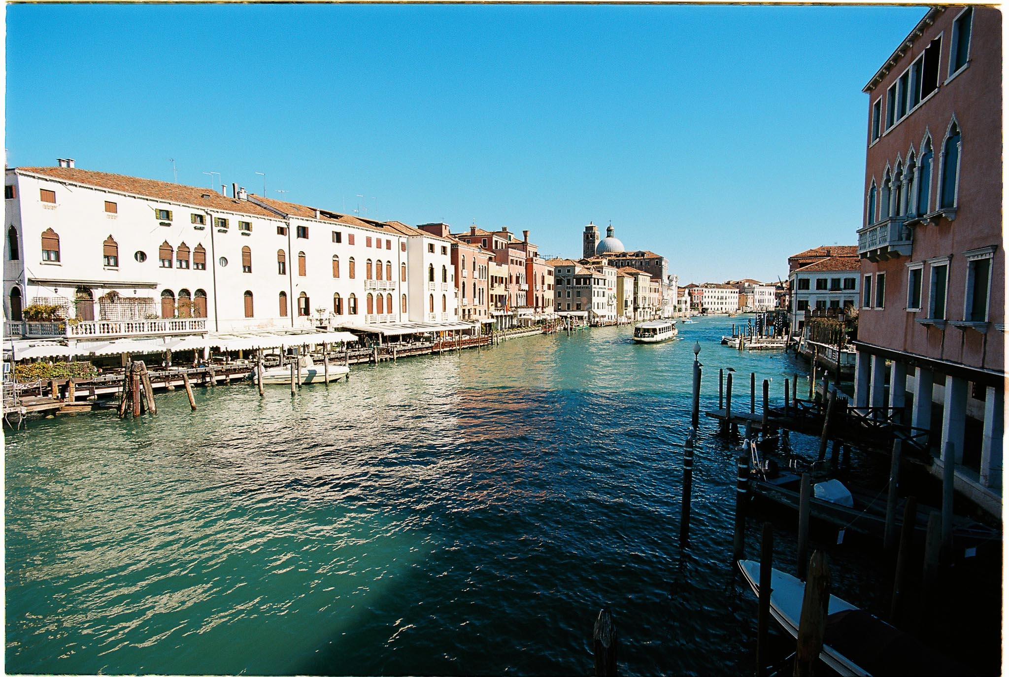Venice Grad canal Kodak Ektar 100 Zeiss distagon 18mm F3.5