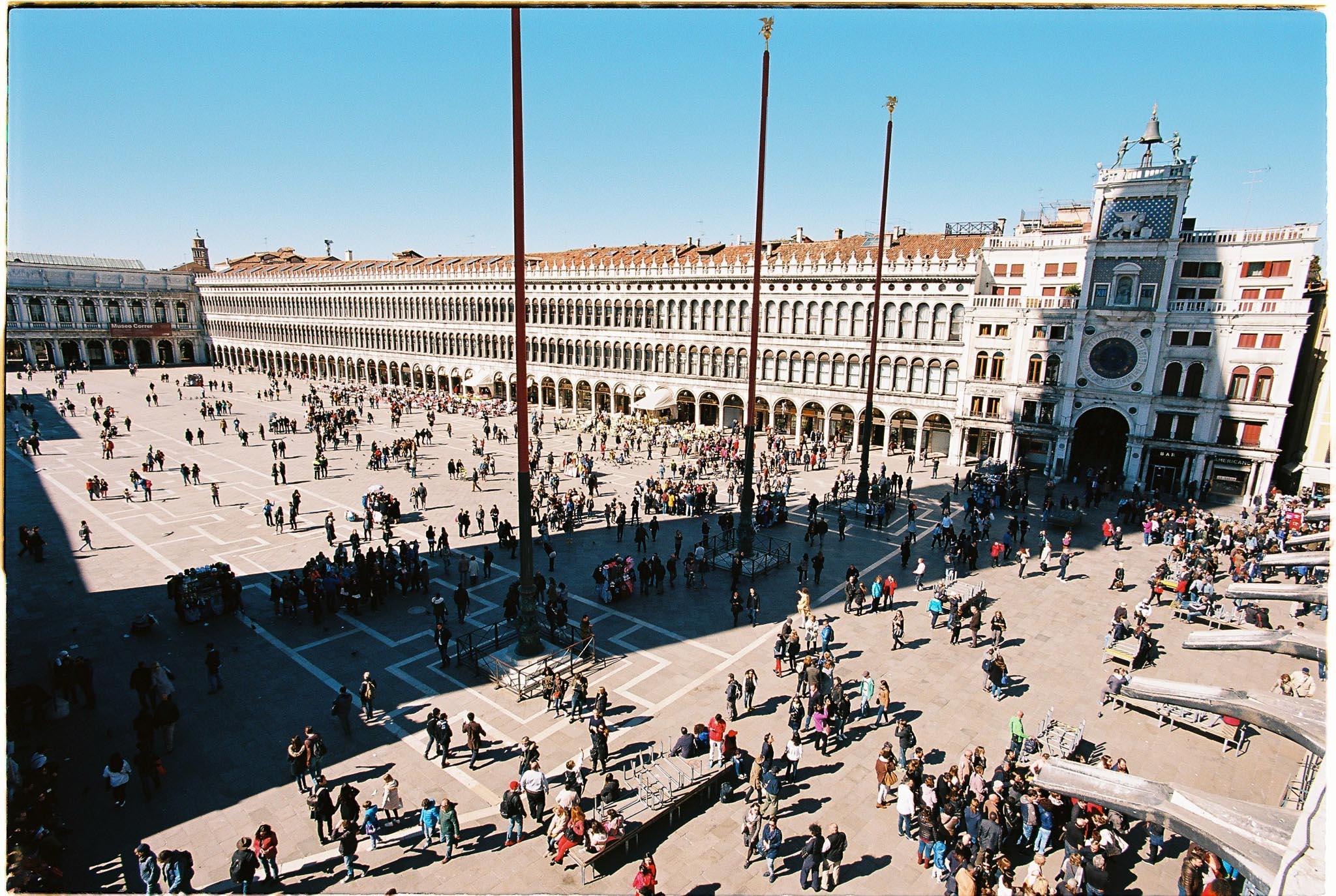 Venice San Marco square kodak ektar 100