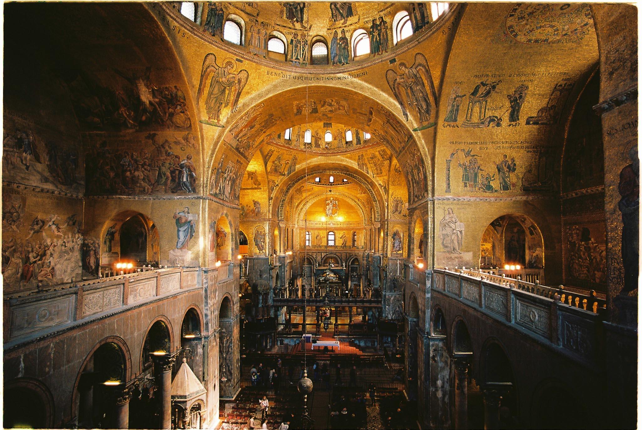 San Marco Basilica inside Kodak Ektar