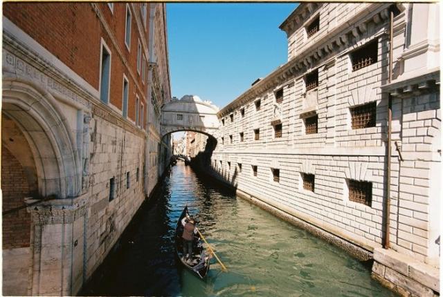 Venice canal kodak ektar 100 18mm Zeiss