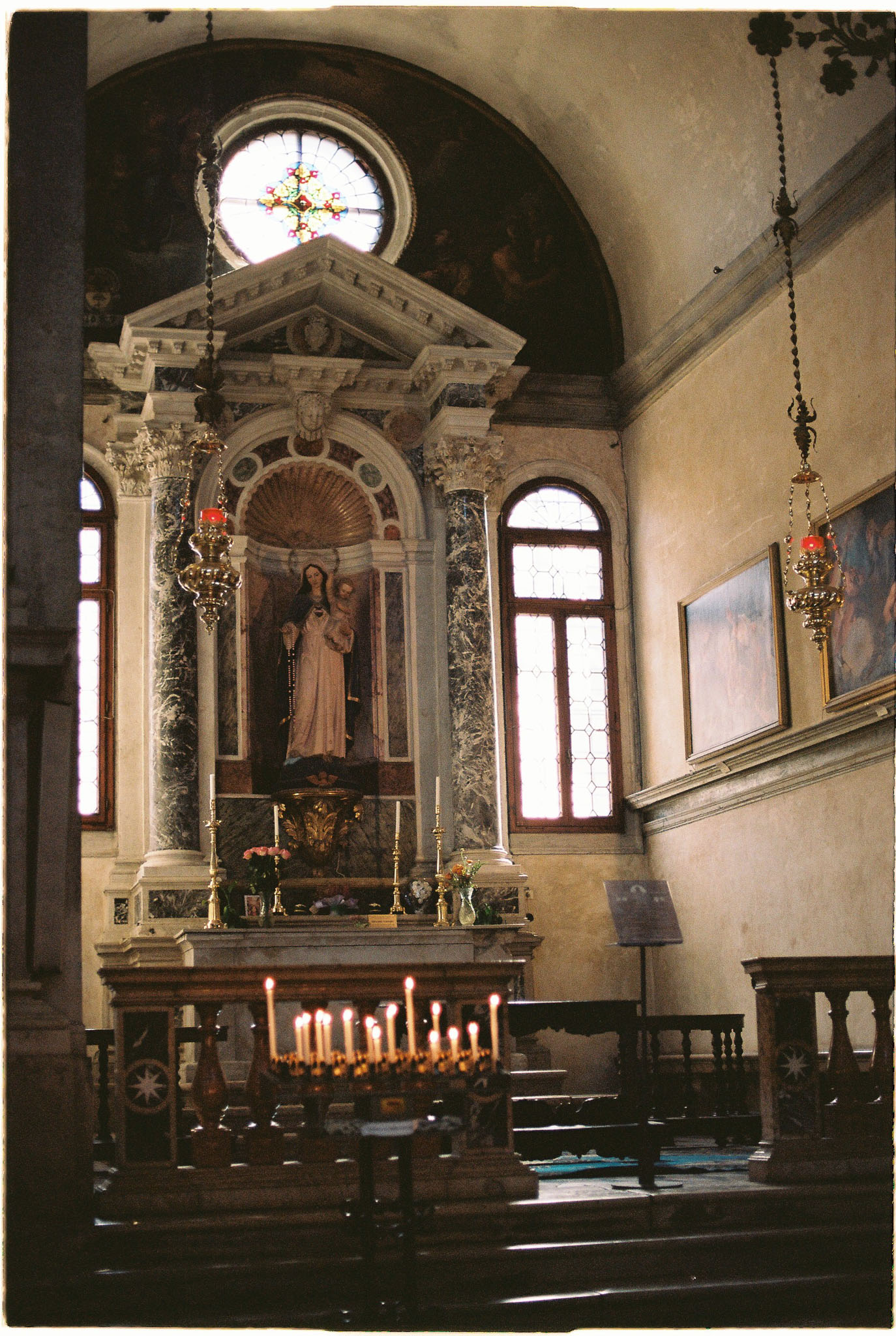 Venice cathedral kodak portra 160 nikon FE2 nikon 50mm 1.4D