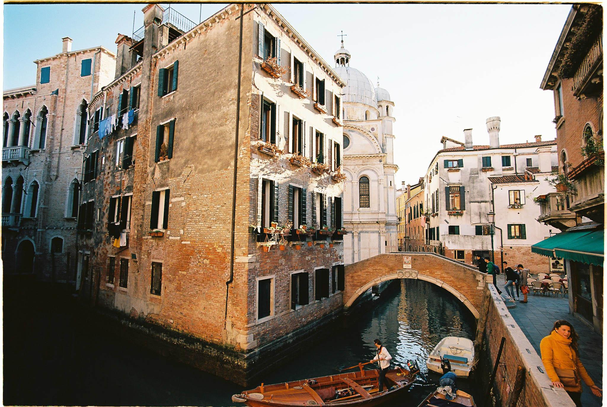 Venice street Venice canals - Kodak Ektar 100