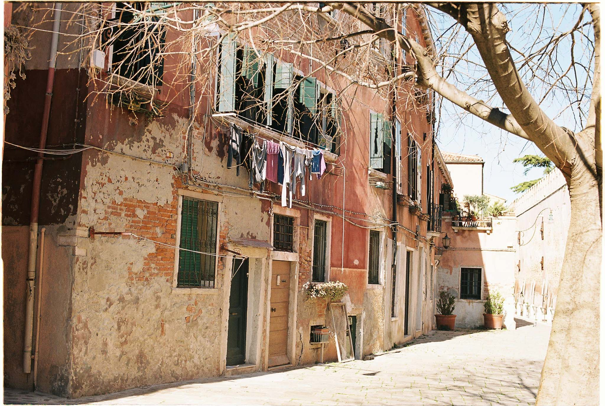 Venice streets - Kodak Portra 160