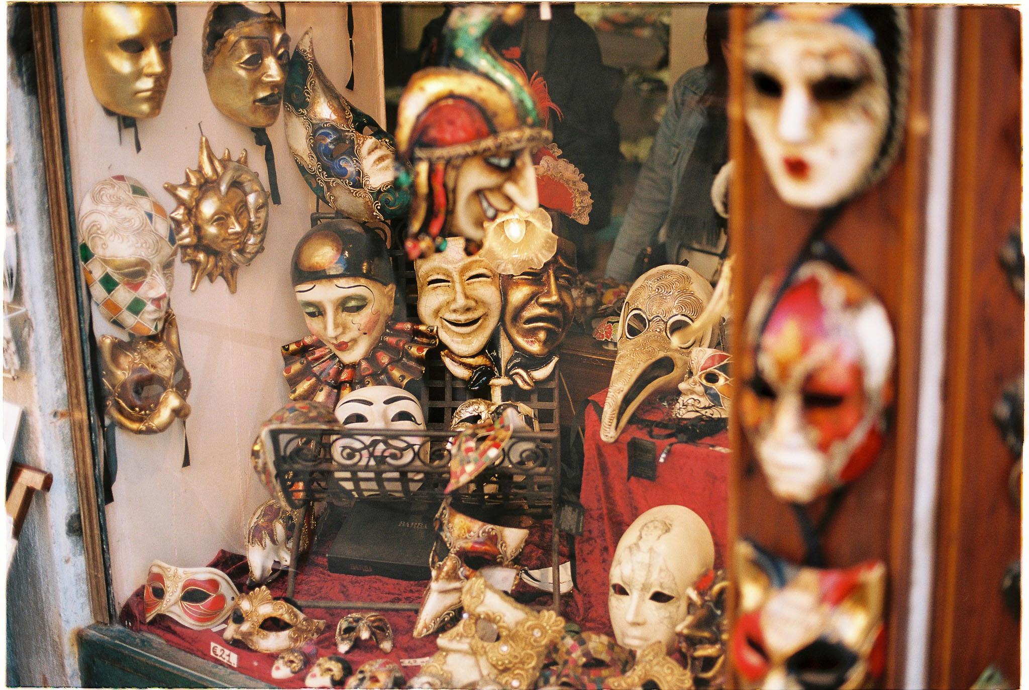 mask venice carneval shop kodak portra 160