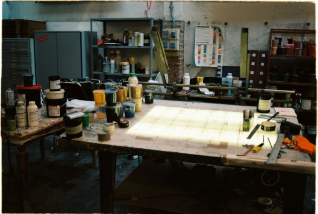 Venice print workshop