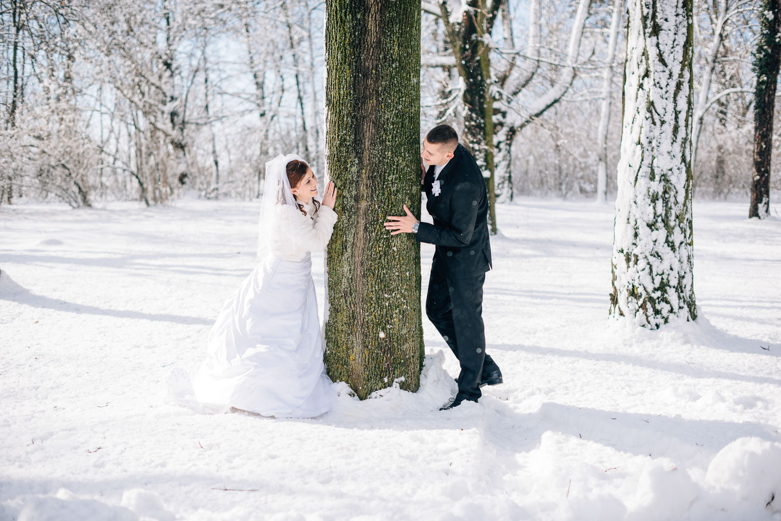 svadba svadobne fotenie fotograf nitra bratislava trencin banska bystrica bab sneh zima v zimepriroda portret portrety